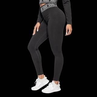 Rib Seamless Black Melange  XS