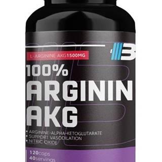 100% Arginin AKG -  120 kaps.