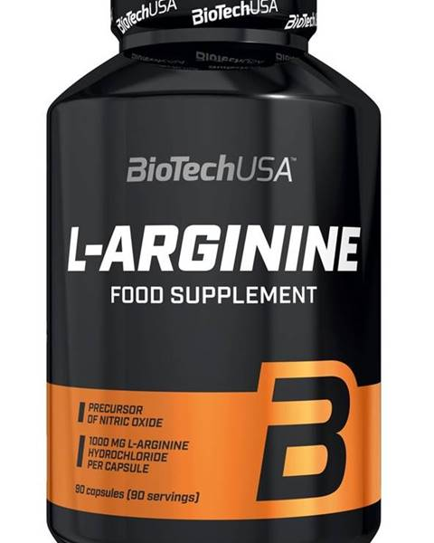 L-Arginine - Biotech USA 90 kaps.