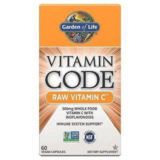 Garden of Life Vitamín C - RAW 60 kapslí