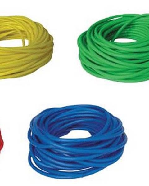 BAND TUBING - Odporová posilovací guma - LATEX FREE - 7,5 m - Žlutá - Velmi snadná