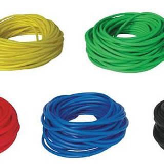 BAND TUBING - Odporová posilovací guma - LATEX FREE - 1 m - Žlutá - Velmi snadná