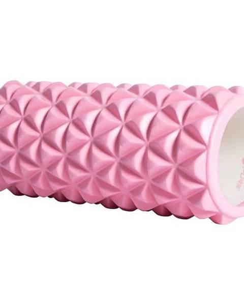 Masážní válec P2I 33x14 cm - Růžová