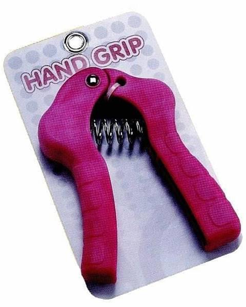 Posilovač prstů HAND GRIP 2702 - růžová