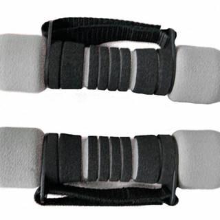 Činka aerobic SOFT 2x1 kg 808  šedo/černé