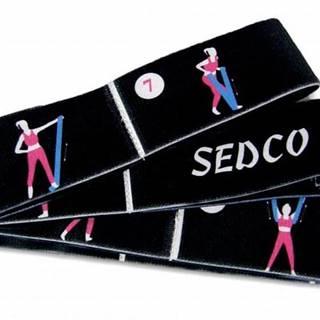 Pás YOGA SEDCO STRETCH STRAP popruh 80x4 cm -