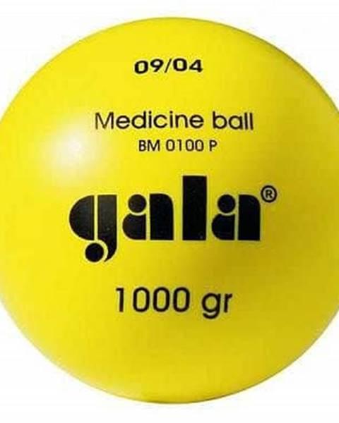 Míč medicinální 3 kg plast  žlutý