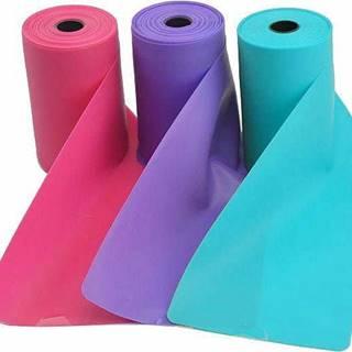 Aerobic guma SEDCO TPE 12m x 15 cm 0,5mm - Světle modrá