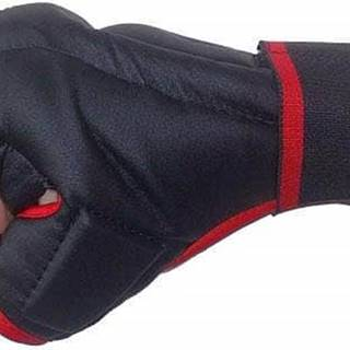Rukavice Kung-fu PU597 EFFEA velikost L, M, S, XL červeno/černé - S