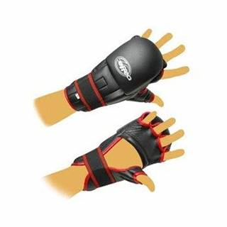 Rukavice Kung-fu PU597 EFFEA velikost L, M, S, XL červeno/černé - M
