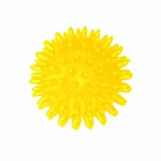 Míček masážní 70 mm - Žlutý