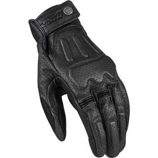 Kožené moto rukavice  Rust Black - S