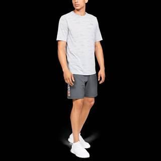 Pánske šortky Woven Graphic Wordmark Grey  S
