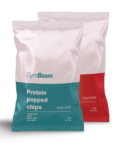 Proteínové čipsy 40 g morská soľ