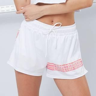 LABELLAMAFIA Dámske šortky Sporty Floral White  S