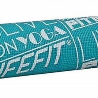 Gymnastická podložka LIFEFIT SLIMFIT, 173x58x0,4cm, tyrkysová