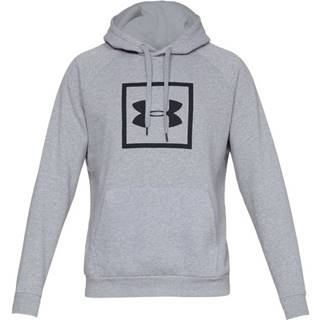 Pánska mikina Under Armour Rival Fleece Logo Hoodie Steel Light Heather/Black - M
