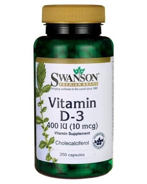 Vitamín D-3 400IU 250 kaps.