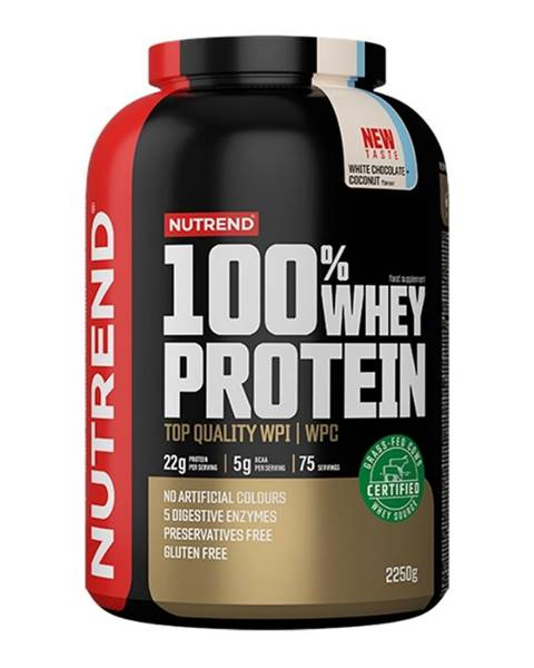 100% Whey Protein 2250 g pineapple coconut