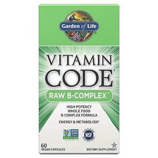 Garden of Life Vitamín B-Komplex - RAW Vitamin Code -60 kapslí
