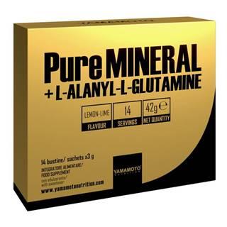 PureMINERAL + L-ALANYL-L-GLUTAMINE -  14 bags x 3 g Lemon Lime