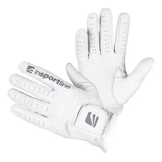 Pánske kožené rukavice  Elmgreen krémovo biela - M/L