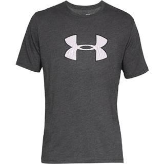 Pánske tričko  Big Logo SS Charcoal Medium Heather - S