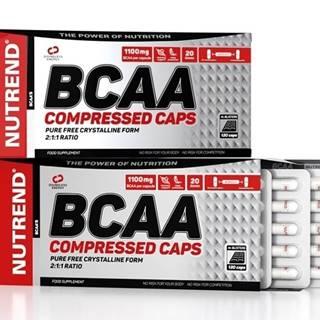 BCAA Compressed Caps -   120 kaps.