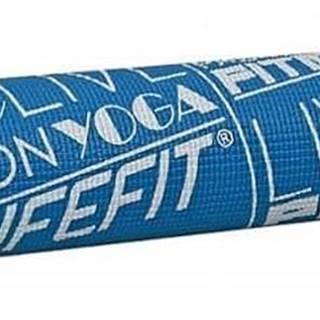 Gymnastická podložka LIFEFIT SLIMFIT, 173x58x0,4cm, modrá