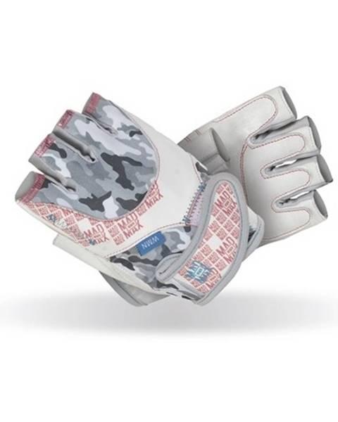 Dámske fitness rukavice   No Matter biela - L