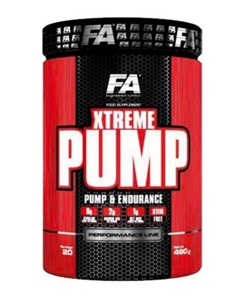 Xtreme Pump Caffeine Free -  490 g Exotic