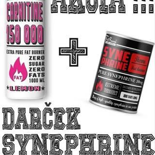 Akcia: Carnitine 150 000 Tekutý + Synephrine Zadarmo -  1000 ml. + 100 tbl. Lemon