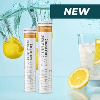 Vitamin C 1000 mg šumivý -  20 tbl. Orange