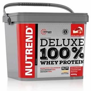 Deluxe 100 % Whey 4000 g Jahodový cheescake
