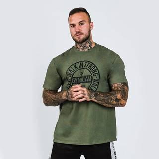 Tričko Walk In Strong Military Green  XXL