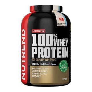 100% Whey Protein 2250 g biela čokoláda kokos
