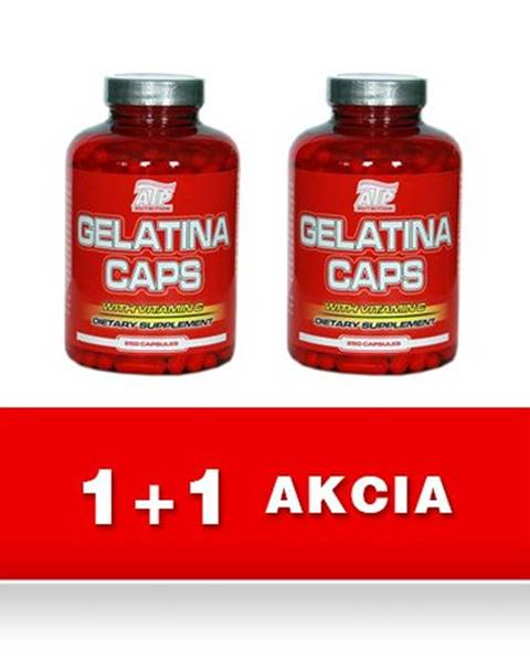 1+1 Zadarmo: Gelatina Caps -  100 kaps + 100 kaps