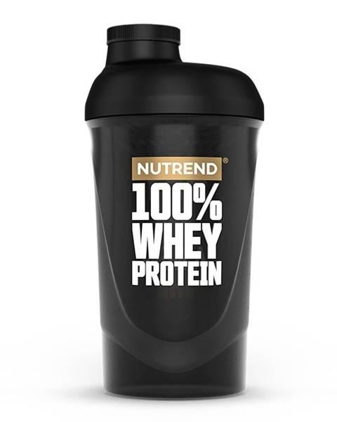 Shaker  100% WHEY 600 ml čierna