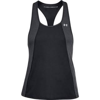 Dámske tielko  Threadborne Fashion Tank BLACK / BLACK / METALLIC SILVER - XS