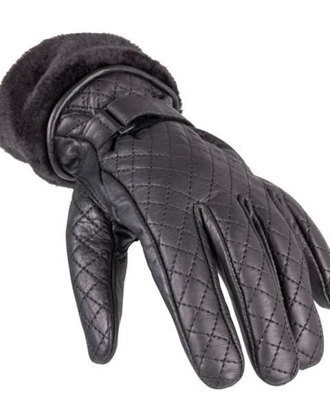 Dámske kožené rukavice  Stolfa NF-4205 čierna - L