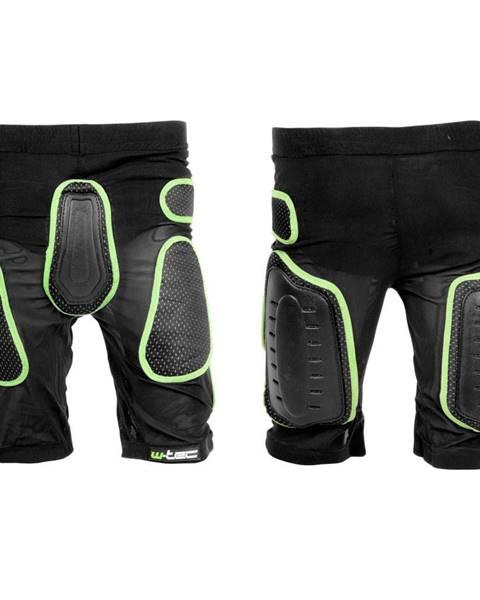 Kraťasy s protektormi  Xator čierno-zelená - XS