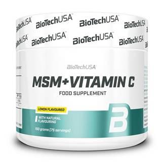 MSM + Vitamin C -  150 g Citrón
