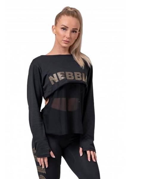 Dámske tričko Nebbia Intense Mesh 805 Black - XS