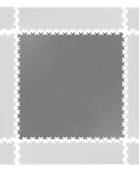 Puzzle záťažová podložka  Simple sivá