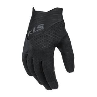 Cyklo rukavice Kellys Cutout Long čierna - XS