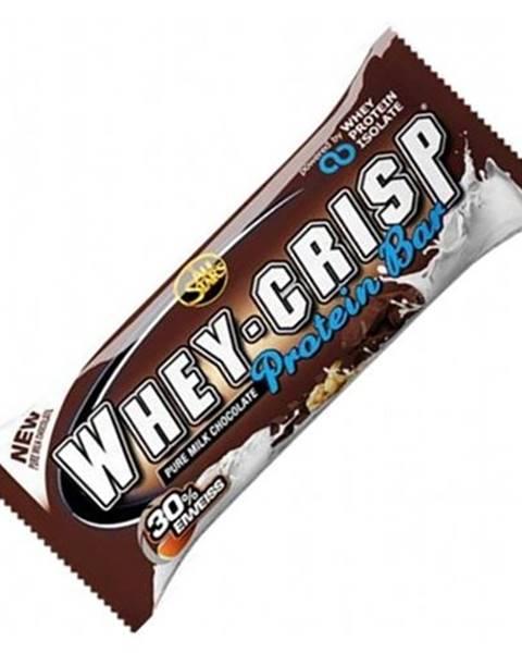 Proteínová tyčinka Whey-Crisp 50 g biela čokoláda kokos