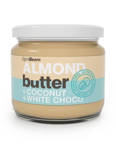 Mandľové maslo s kokosom a bielou čokoládou 340 g