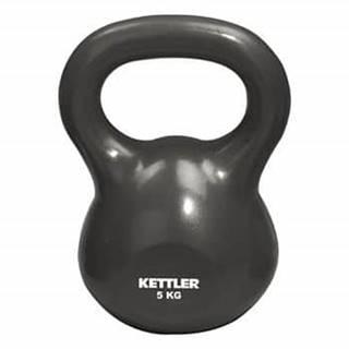 Zátěžový míč Kettlebel s držadlem 5kg 2,5 kg oranžová