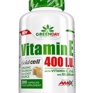 GreenDay Vitamin E 400 I.U. LIFE -  200 kaps.