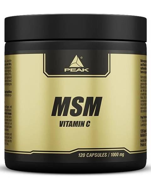 MSM + Vitamin C -  120 kaps.